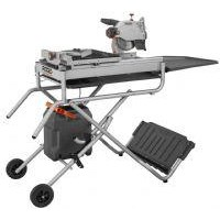 7 Job Site Wet Tile Saw With Laser Click Image To Enlarge